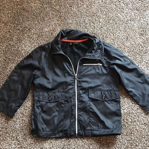 Hurley light weight cropped sleeves jacket
